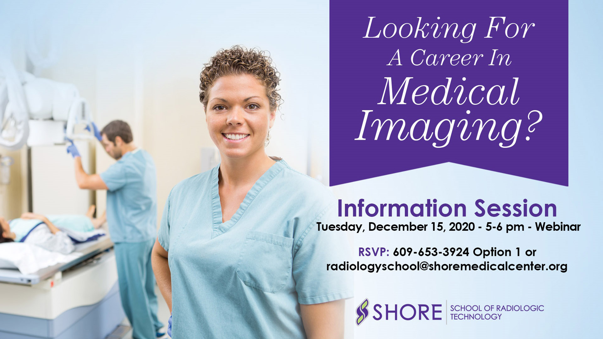 Looking for a career in medical imaging?
