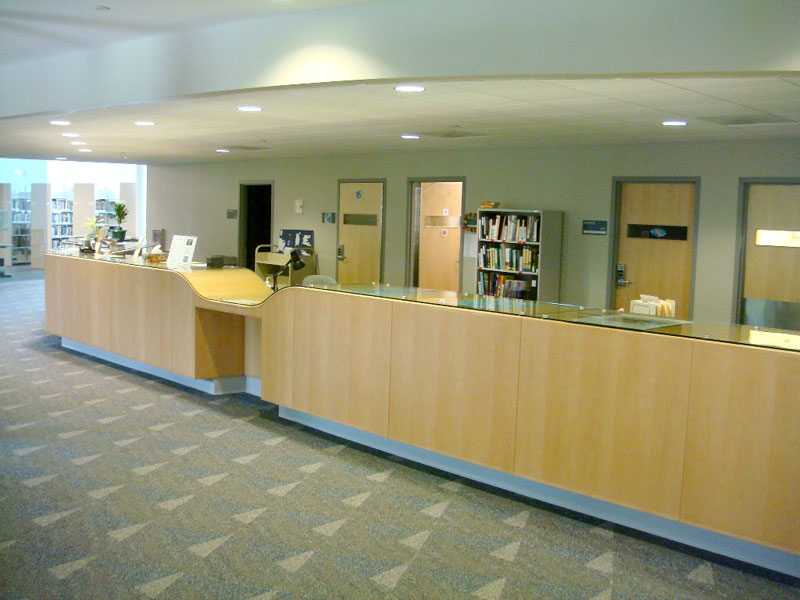 Library Front Desk Angle 1
