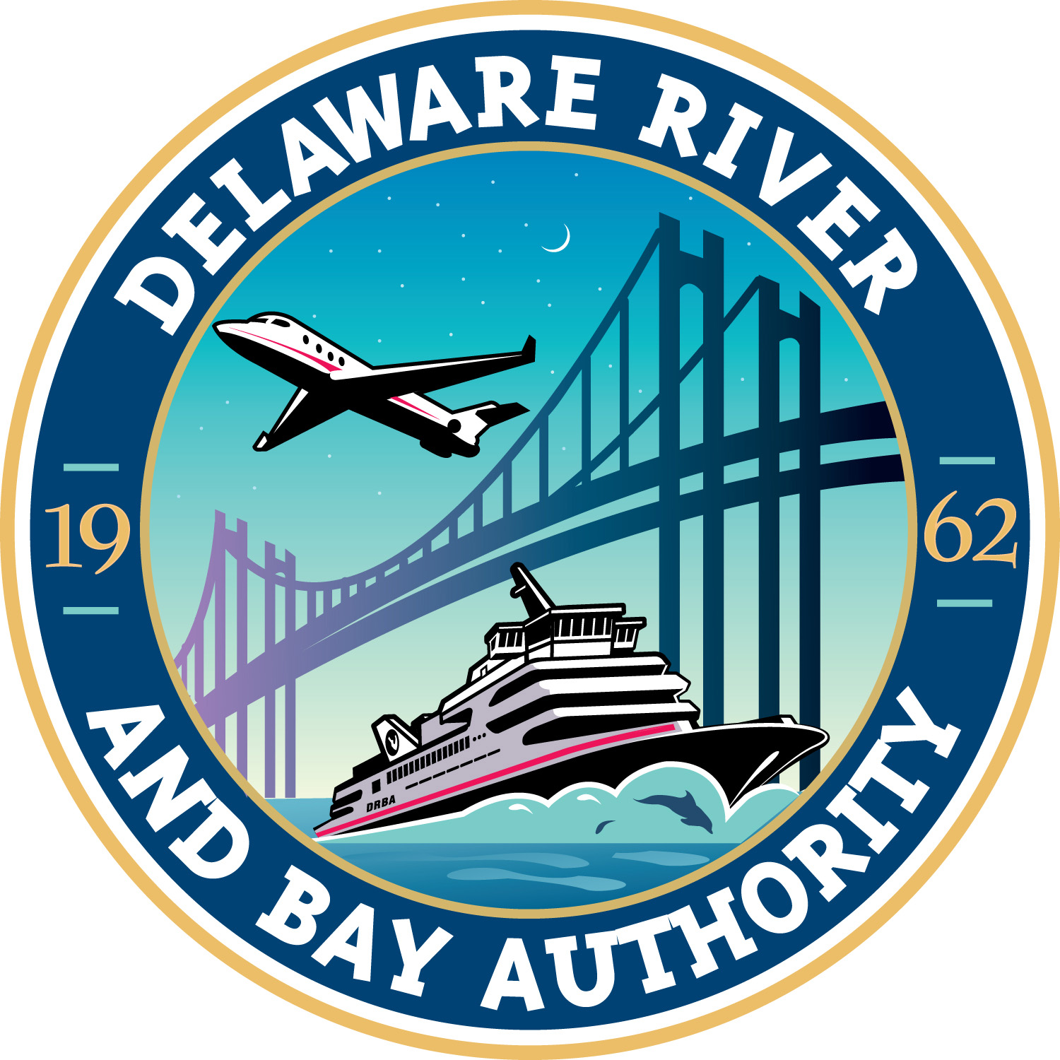 Delaware River and Bay Authority Logo