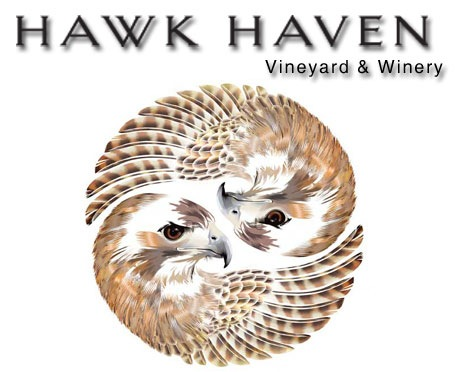 Hawk Haven Vineyard and Winery Logo
